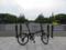 しぶりんのジャージ色の自転車
