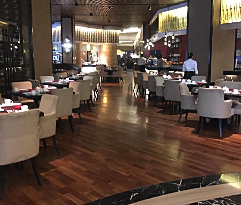 マジェスティックホテル レストラン