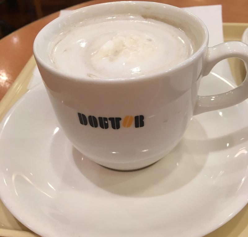 ドトール ほうじ茶ラテ