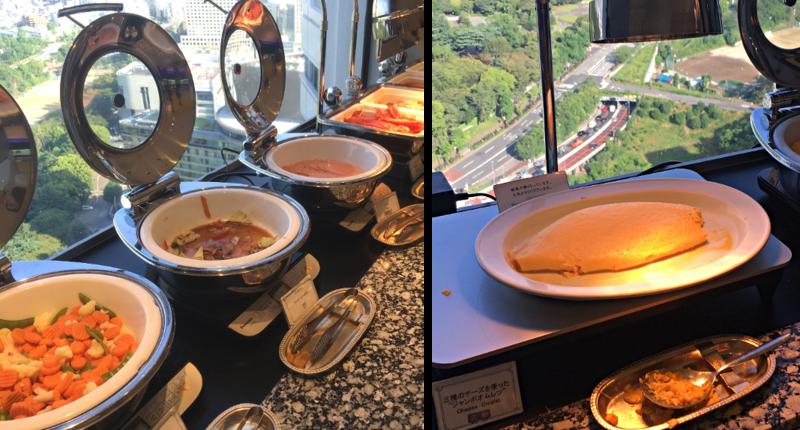 ホテルニューオータニ東京 タワーブッフェ朝食4