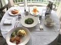 [ヒルトン][お台場][エグゼクティブツイン][ルームサービス][朝食][エッグベネディクト][ヒルトン東京お台場][おしゃれ]