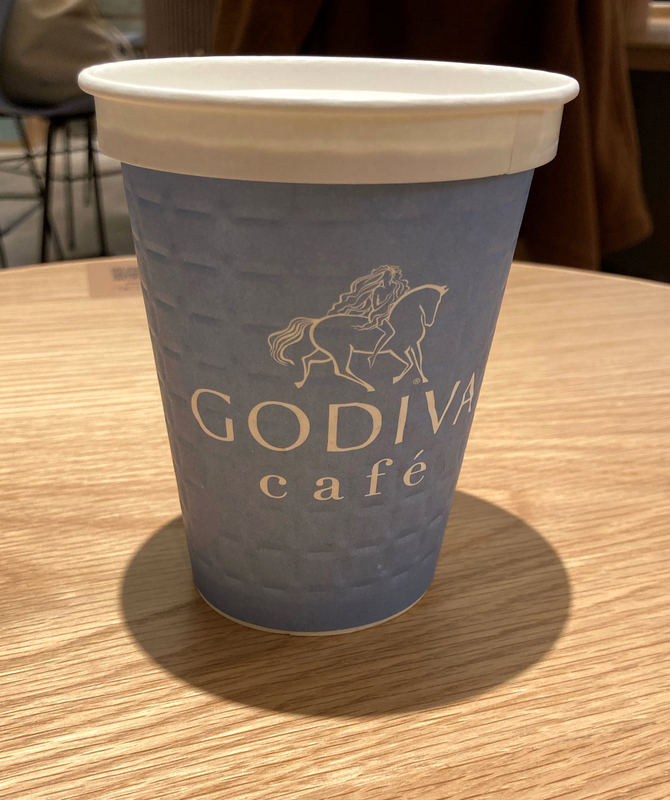ゴディバカフェ カカオミルク