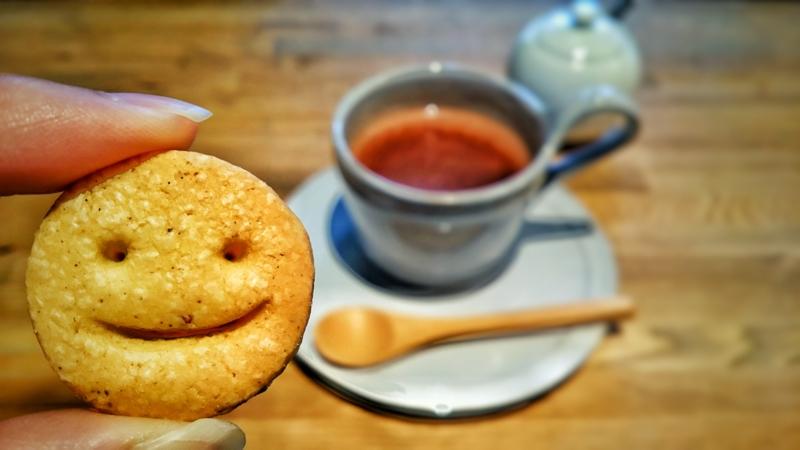 石引publicのシナモン味の表情が可愛いスマイルクッキー