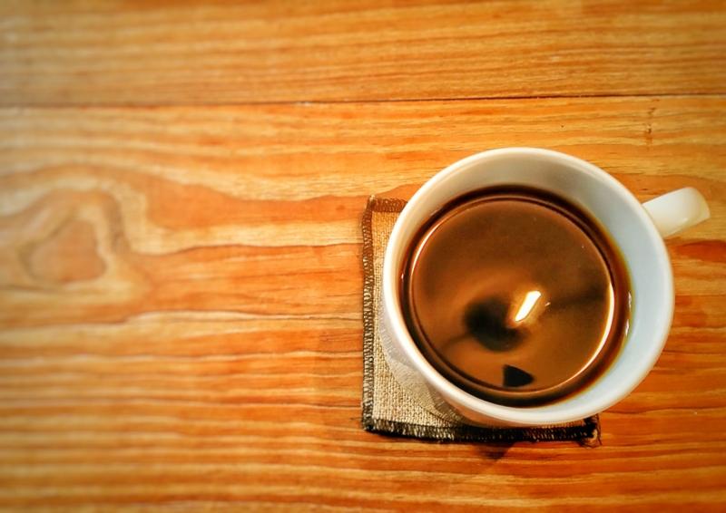 ヨシタベーカリーのこだわりのホットコーヒー