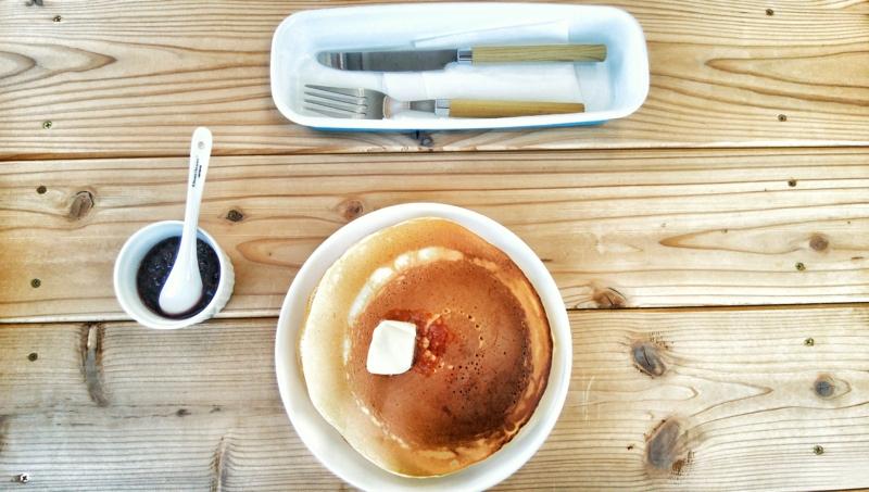 KUKURIのパンケーキ