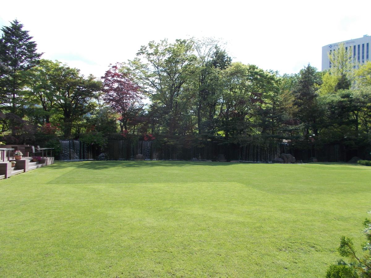 札幌パークホテル庭園