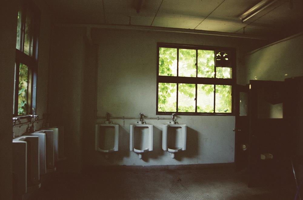 東大駒場寮 1Fにあったトイレ