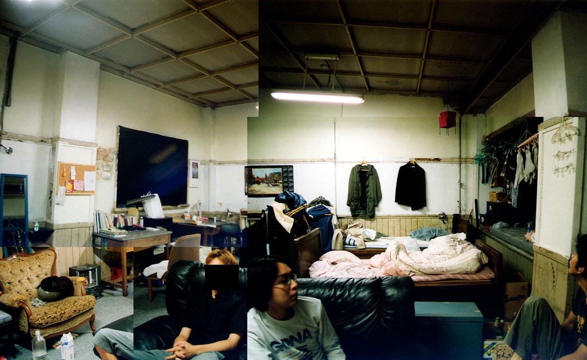 東大駒場寮にあった西さんの部屋