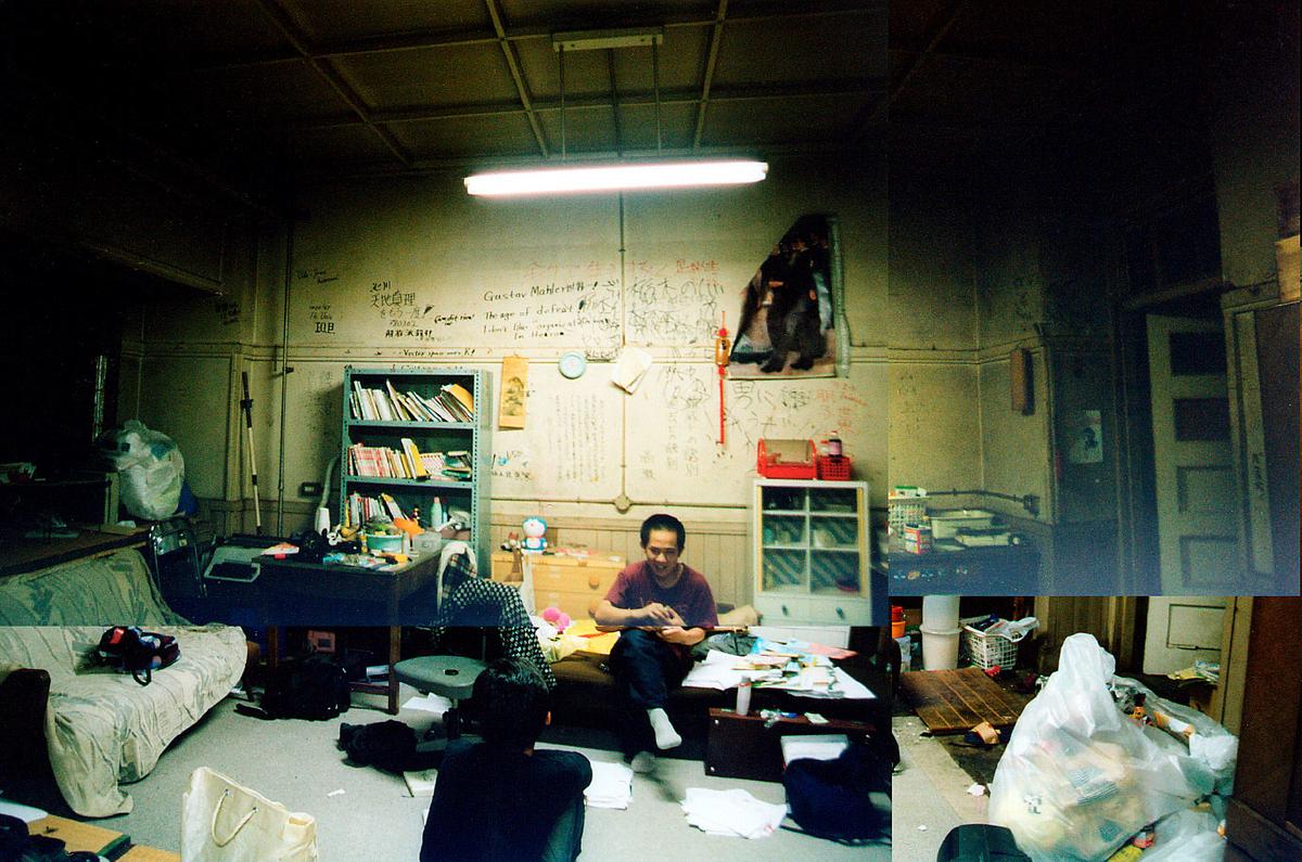 原田さんが暮らしていた東大駒場寮の部屋