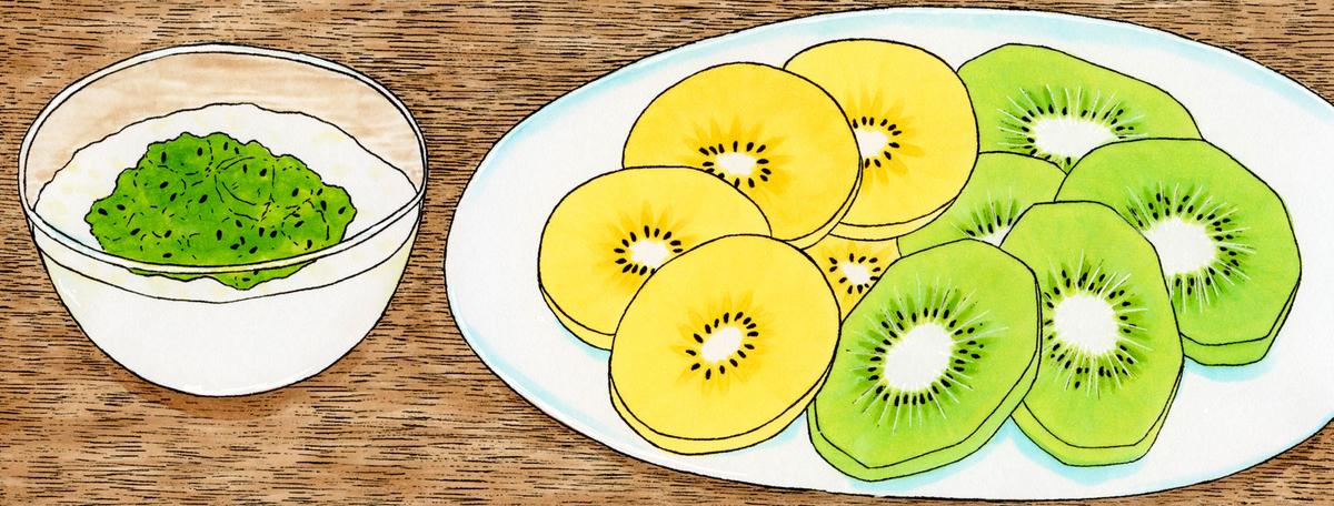 「栄養と料理」(女子栄養大学出版部)2021年5月号 連載「機能性成分のひみつ」第35回 キウイ