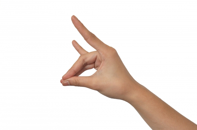 指できつねを作るやーつ