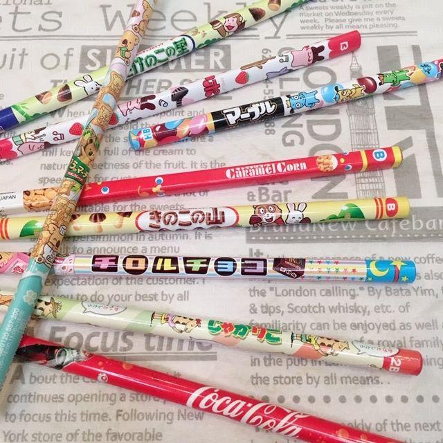【ドンキ】ずっと見てると食べたくなっちゃう♡定番お菓子柄の鉛筆!