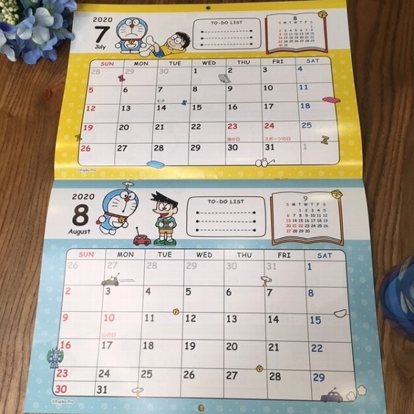Im′Doraemonカレンダー