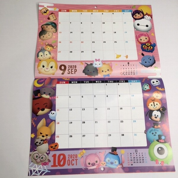 Disney ツムツムカレンダー