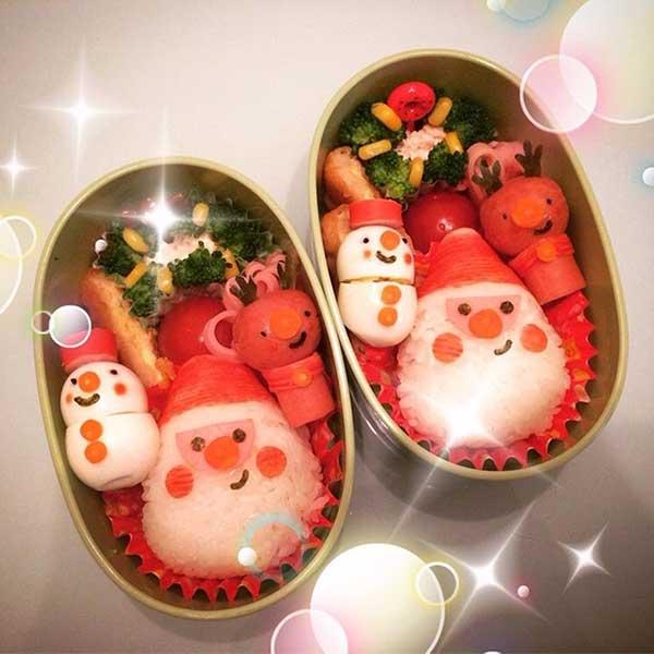 メリークリスマス☆あわてんぼうのサンタクロースキャラ弁