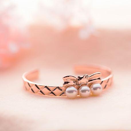 Hello Kitty Pink Sweet Quilt バングル