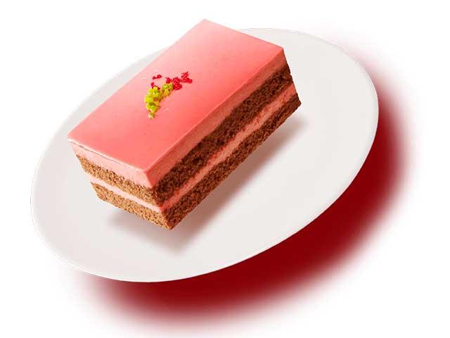 ルビーチョコレートケーキ