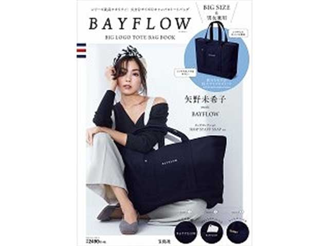 BAYFLOW(ベイフロー)BIG LOGO TOTE BAG BOOK