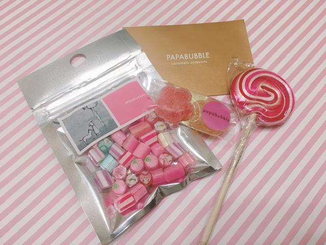 パパブブレがひな祭りをお届け♡かわいいアメちゃんで桃の節句ができあがり♪