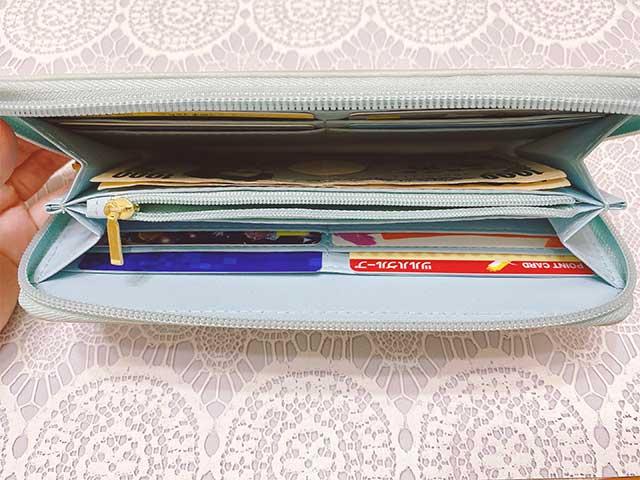 財布の中は・・・?