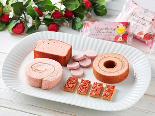 見逃し厳禁♡Afternoon Tea監修 あまおう苺のスイーツ!ピンク×ピンクが愛らしすぎるー!