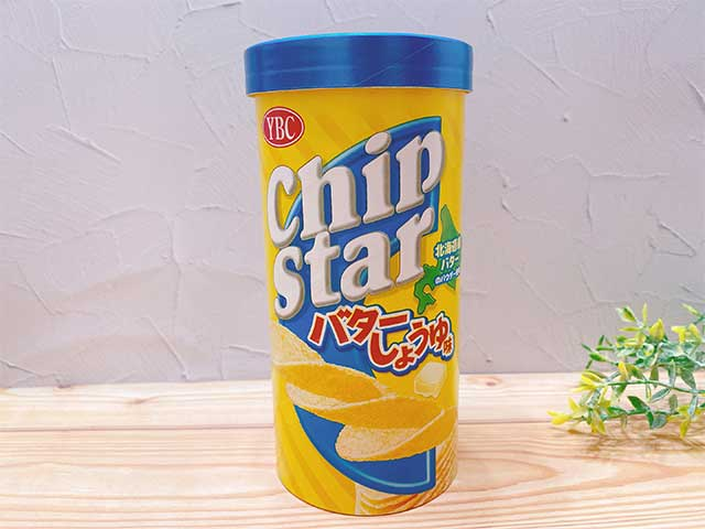 チップスター バターしょうゆ味