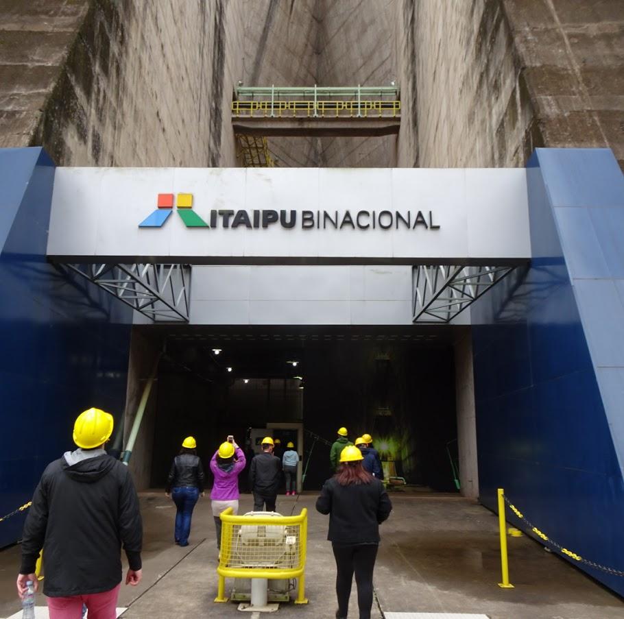 イタイプダム観光。世界第二位の節電量。