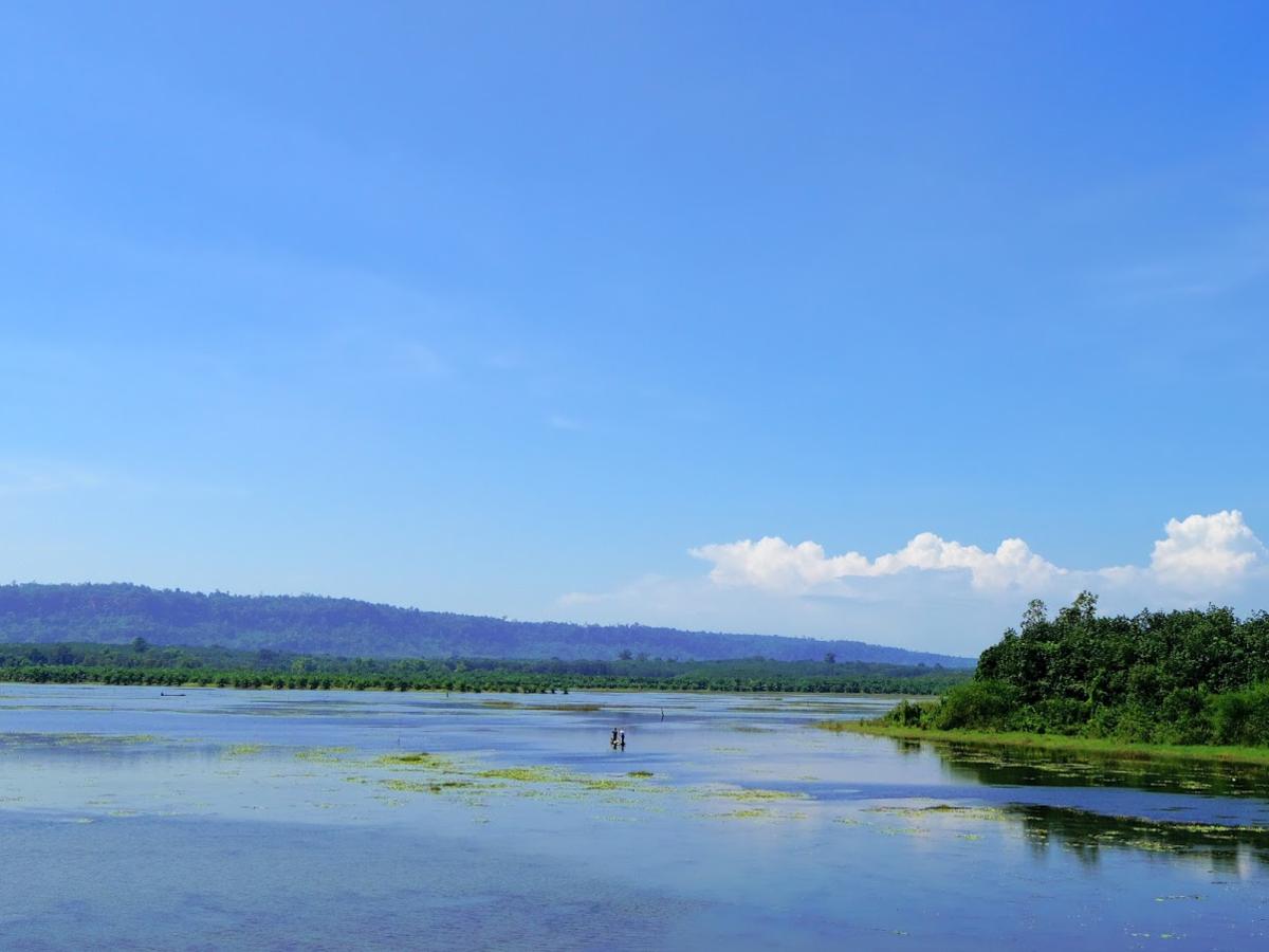 自然豊かなブンカーン県の景色