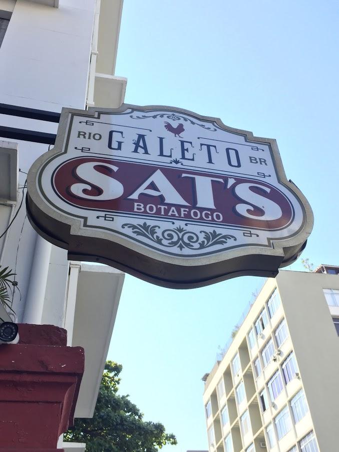サンパウロのGaleto Sat's Batafogoにて昼食をいただく