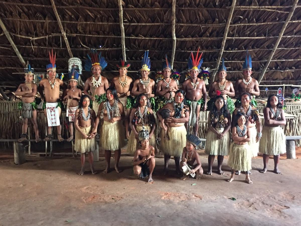 アマゾン川の先住民族