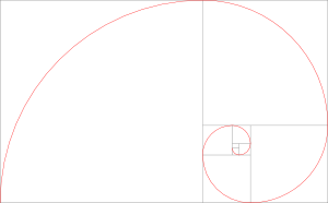 黄金比の螺旋