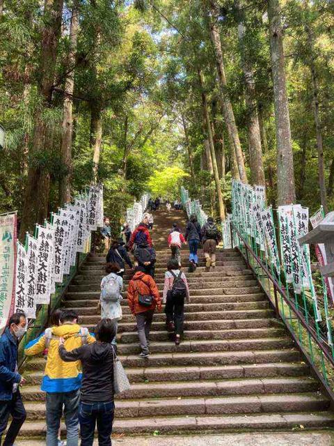 熊野本宮大社(階段)