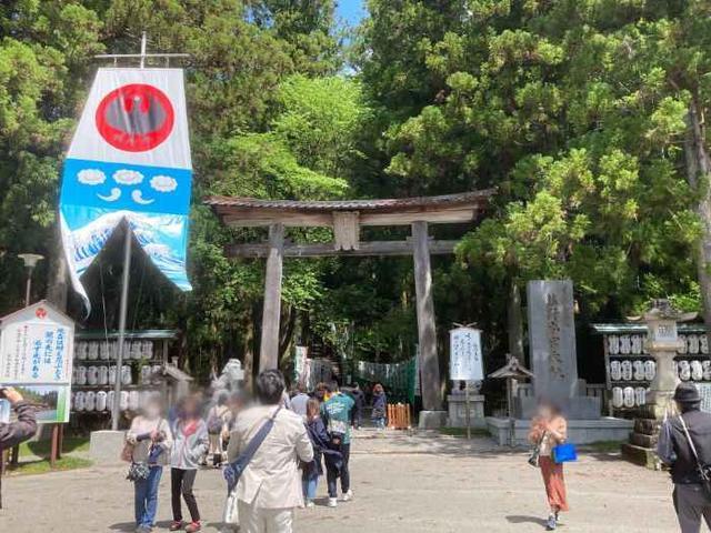 熊野本宮大社(鳥居)