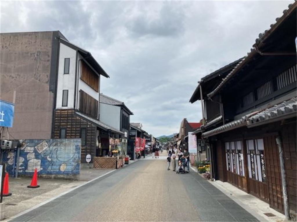 犬山城、城下町