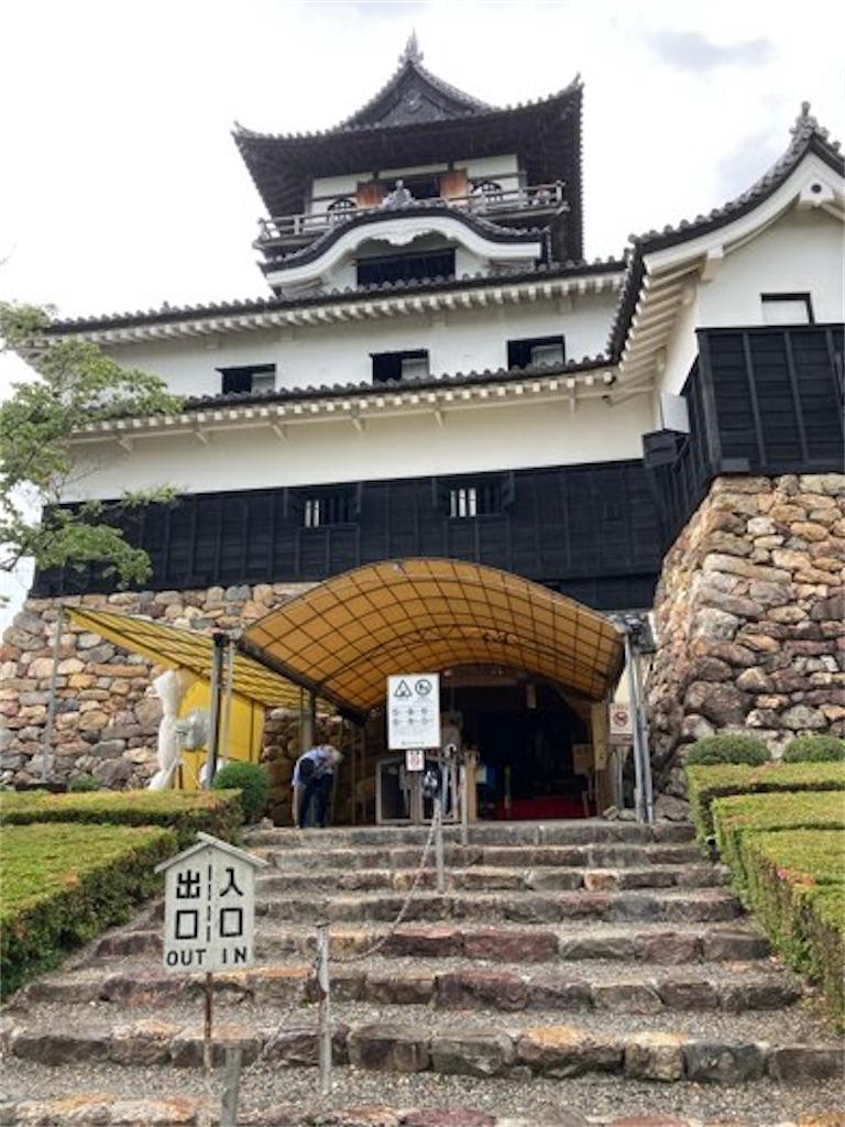 犬山城の外観