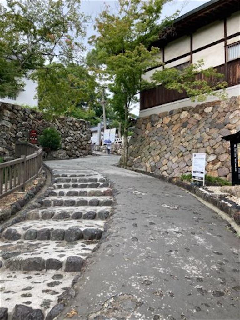 三光稲荷神社から犬山城までの道中の坂
