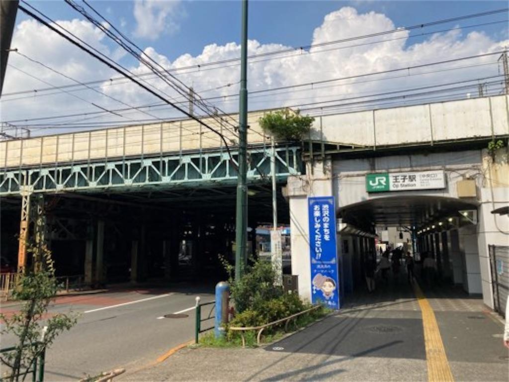 王子駅の外観