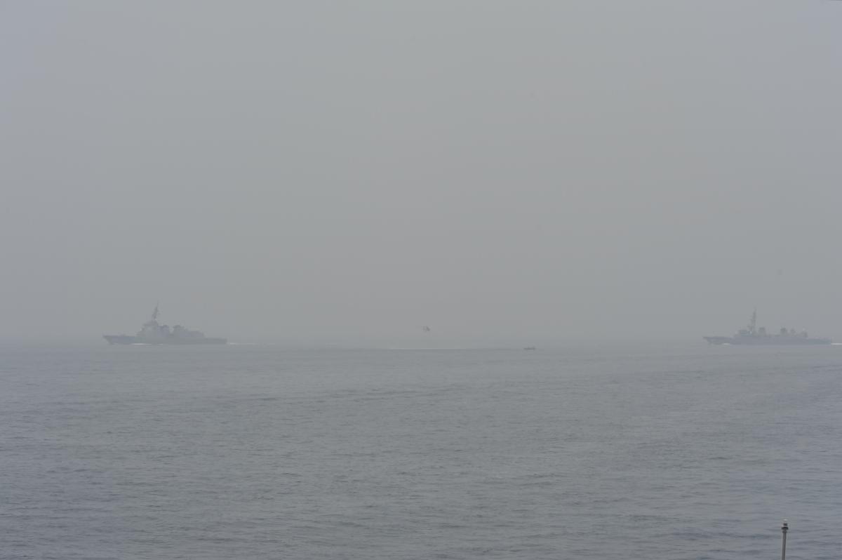 [舞鶴港][護衛艦][展示訓練]