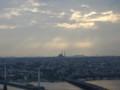 モスクのドームに天国のはしご
