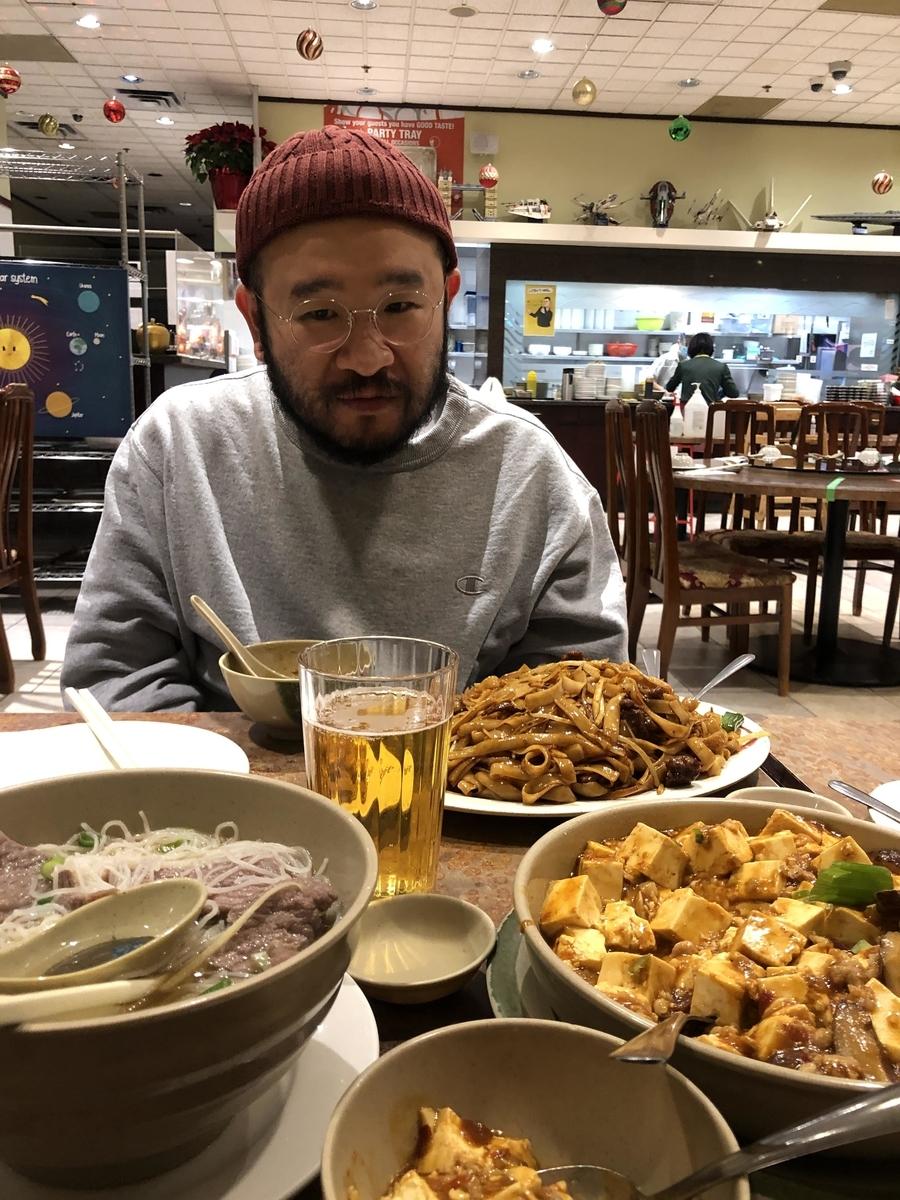 リッチモンドの中華料理