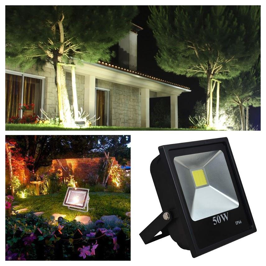 Những điểm cần lưu ý khi chọn đèn pha led chiếu sáng sân vườn