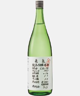 cel 純米吟醸 生原酒 高知 亀泉 日本酒