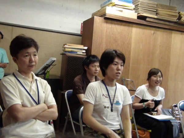 夏合宿セミ2010
