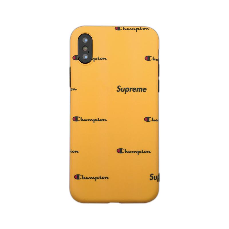 シュプリーム コラボiPhoneX/8/iphone7プラス携帯カバーかっこいい