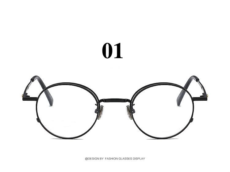 メタルフレームラウンド メンズ福井眼鏡女子めがね 芸能人おしゃれデザイン丸いめがね