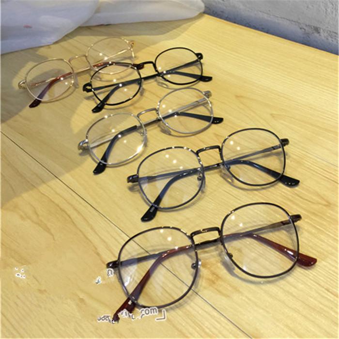 メタル金属製安いメガネ ボストン メンズ レディース