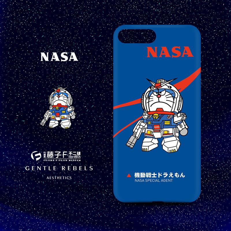 機動戦士ドラえもんガンダムiPhone XR/XS/XS Maxケースiphone8plus