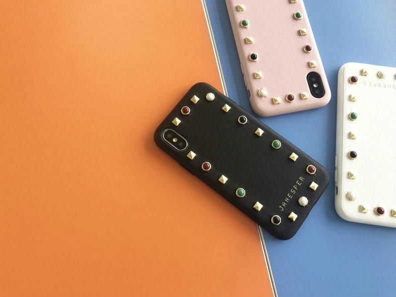 レザー高級iPhone Xs Max/XR/X/8Plusケースクラシカル