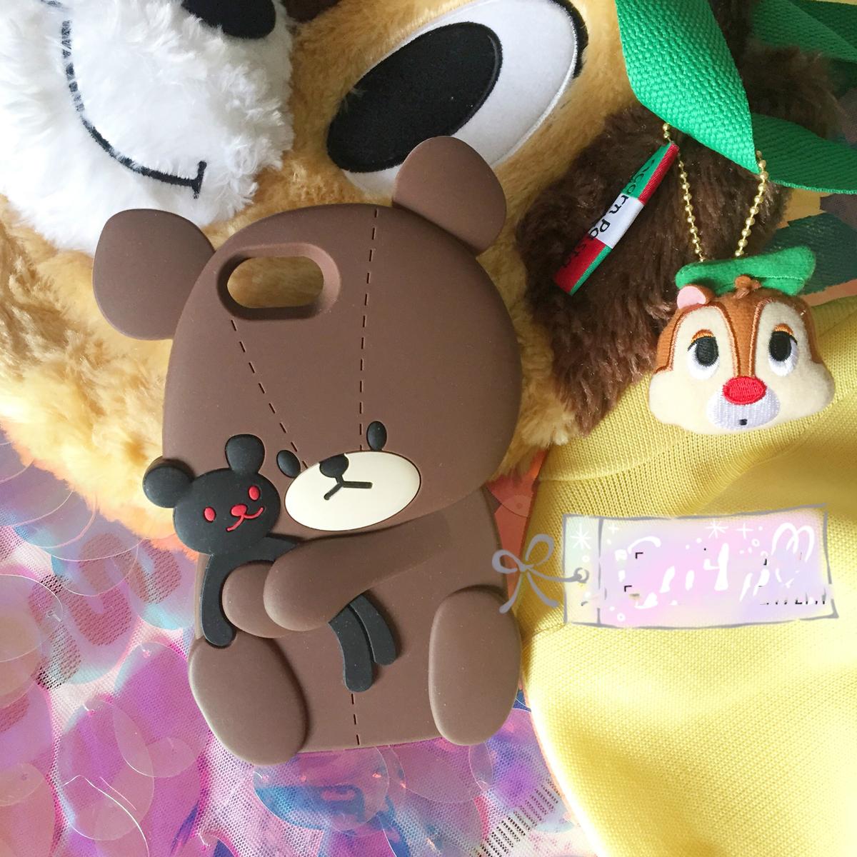 熊かわいいiphoneXS/XS Max/XR ケース キャラクター シリコン
