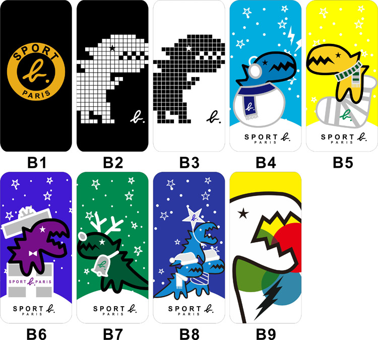 きょうりゅう柄iPhone XS/XS Max/XRケース恐竜